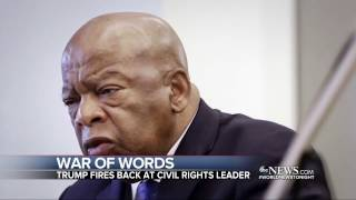 Civil Rights Leader Rep  John Lewis Says He Doesn't See Donald Trump as a 'Legitimate President'