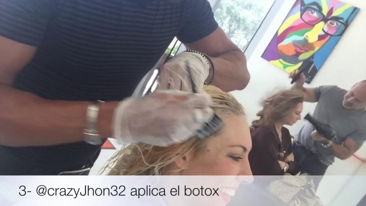 Botox capilar como queda doovi for Bano keratina en casa