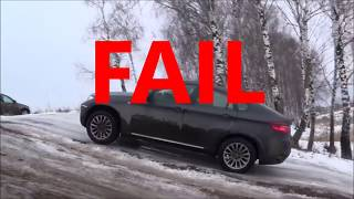 ►❄ ⛄ ❄ Snow Test   Audi Q7 Quattro vs BMW X6 xDrive Winter Time ❄️😂◄