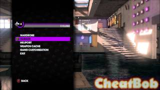 Saints Row The Third CHEATS : TONS OF NEW VEHICLES (TANK, Gatmobile, helicopters...)