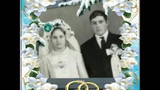 Поздравляем с Днём свадьбы 45лет совместной жизни.