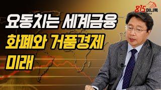 요동치는 세계금융! 마구 발행하는 화폐와 버블경제의 끝은 어떻게 될까? |홍익희 교수 | 815머니톡 (풀버전)