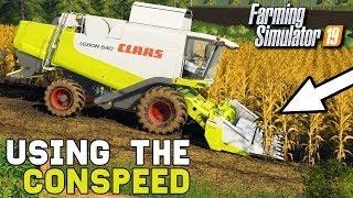 USING THE CLAAS CONSPEED | Farming Simulator 19 thumbnail