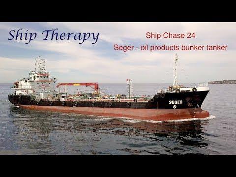 Ship Chase 19 - Seger bunker tanker - Mavic Pro 4K