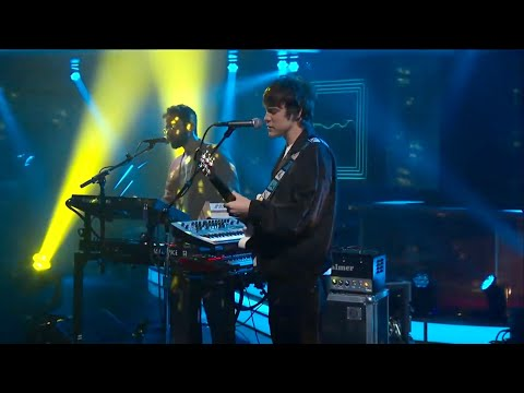 "MGMT - ""Electric Feel"" The Late Show With Stephen Colbert"