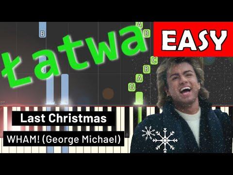 🎹 Last Christmas (Kolęda dwóch serc) - Piano Tutorial (łatwa wersja) (EASY) 🎹