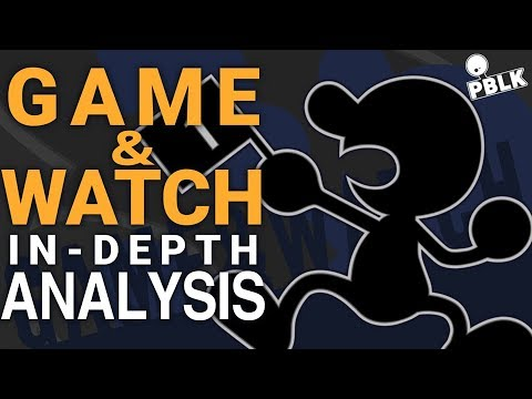 Smash Bros. Ultimate - Mr. Game & Watch In-Depth Analysis (Frame Data, Tips, Viability) thumbnail