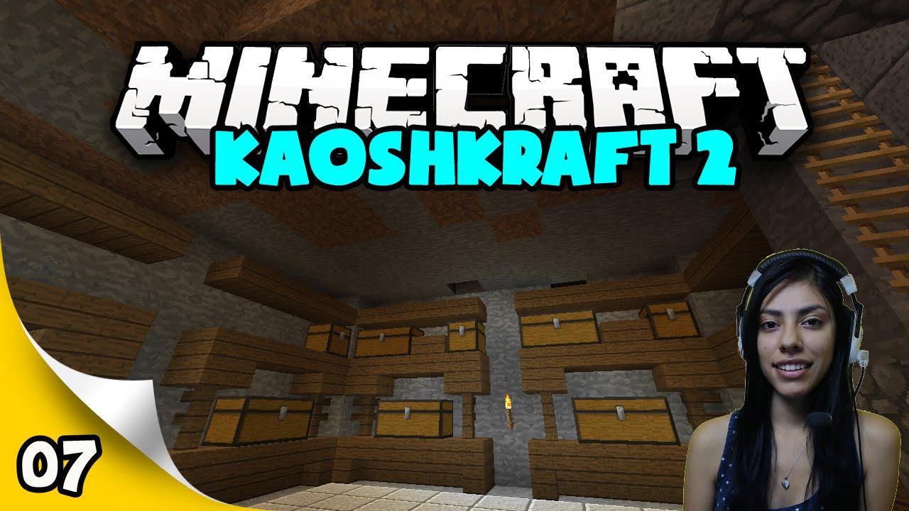 Download KaoshKraft SMP 2 - EP 7 - New Storage Room!
