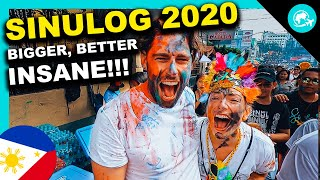 SINULOG Festival 2020 Philippines is INSANE! Much BETTER than HOLI!