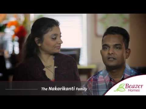 Beazer Homes Testimonials | Homeowner Reviews | The Nakarikanti's