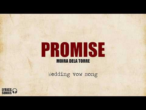 Moira Dela Torre - Promise (Wedding vow song) Lyrics