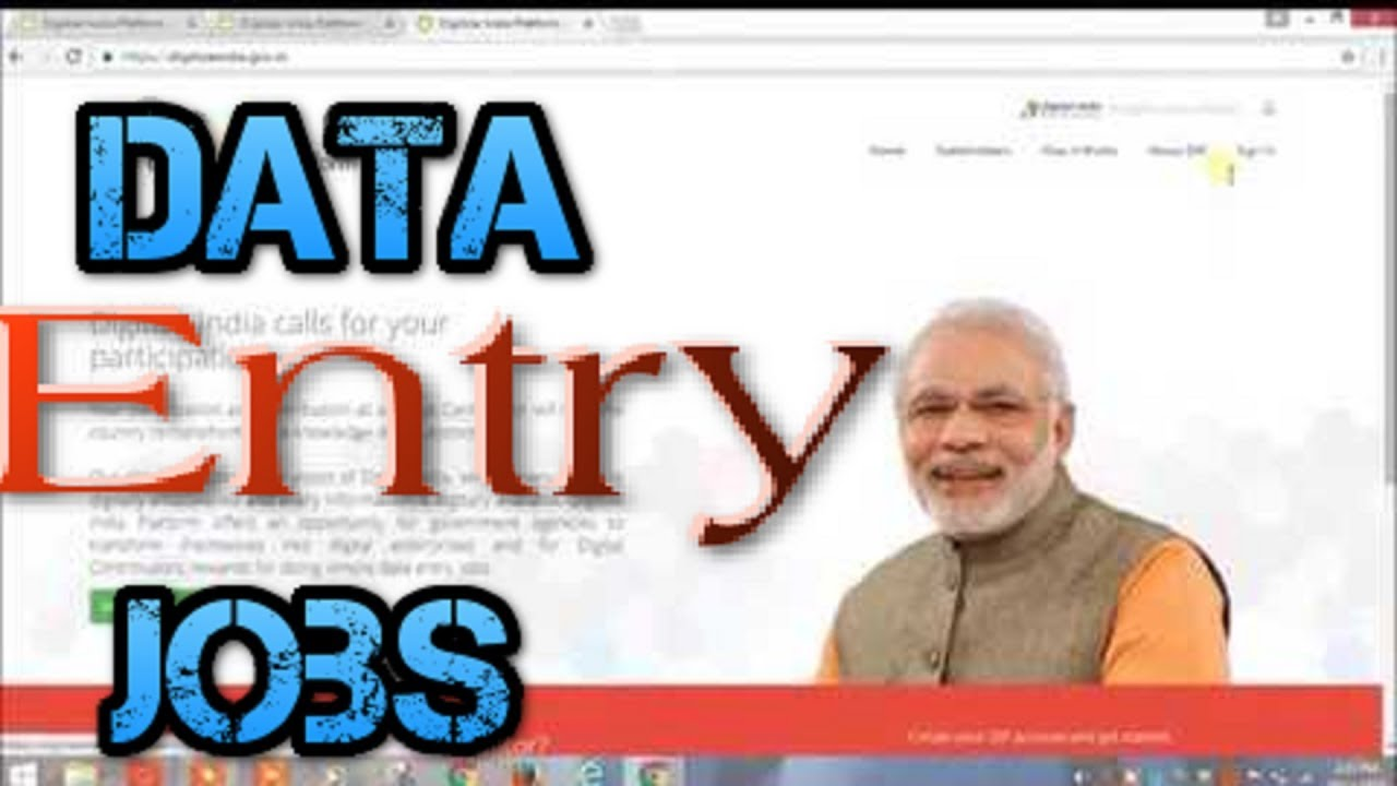 Online Data entry jobs without investment! form filling jobs by Govt