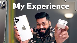 Shifted To iOS After 10+ Years on Android Ft. Airpods Pro ⚡⚡⚡ My Experience After 30 Days!