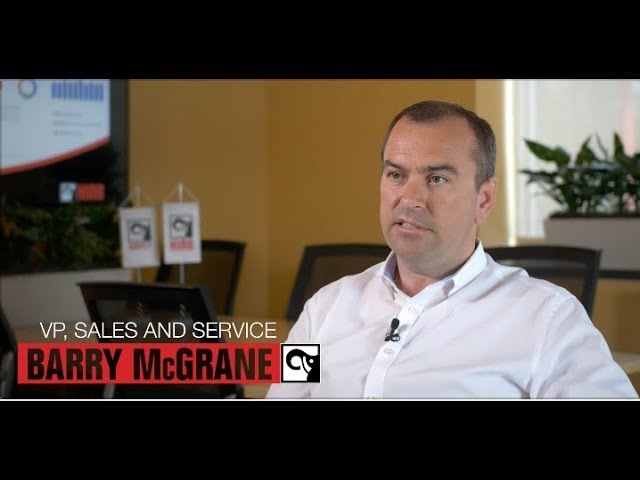 Barry McGrane the VP of Sales and Service for Hiab USA