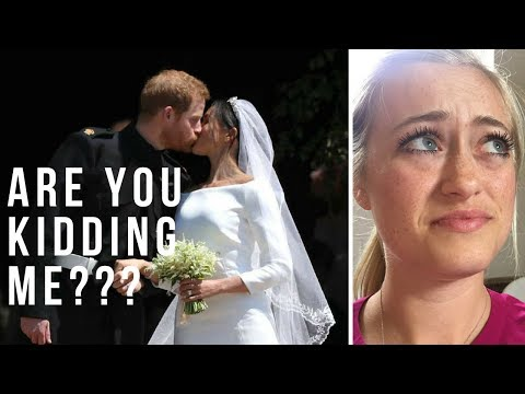 Honest Live Reaction To The Royal Wedding 2018