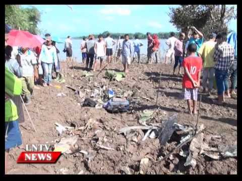Lao NEWS on LNTV: QV 301 flight crash caused by bad weather conditions.3/12/2014