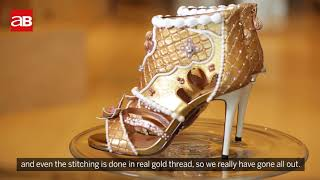 Most expensive shoes unveiled in Dubai