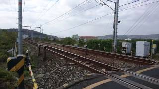 Video EF200-19 2070レ 矢部川西堤踏切通過 download MP3, 3GP, MP4, WEBM, AVI, FLV Desember 2017