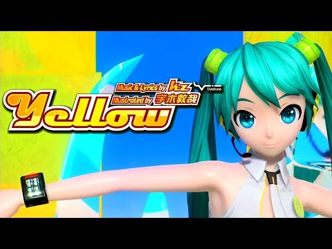 [60fps] Yellow イエロー- Hatsune Miku 初音ミク Project DIVA ドリーミーシアター English lyrics Romaji subtitles