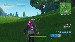 Fortnite Saison X Mec Suit Glitching