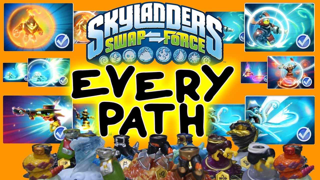 Displaying 19> Images For - Skylanders Swap Force Wave 3 Characters