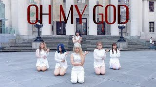 [KPOP IN PUBLIC CHALLENGE] (G)I-DLE((여자)아이들) _ Oh my god Dance Cover by DAZZLING from Taiwan