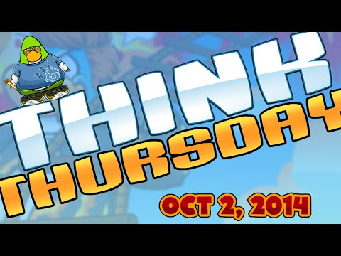 Club Penguin: Think Thursday - October 2, 2014