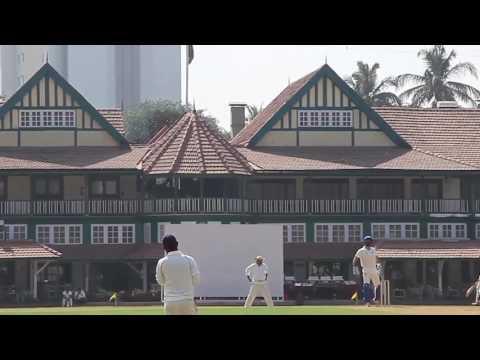 Rohit batting Bombay Gymkhana