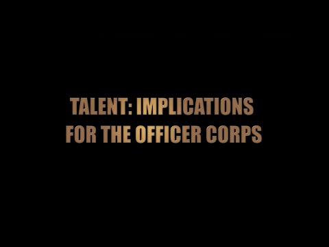 Defining U. S. Army Officer Talent