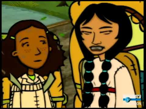 "North/South America - ""Lewis and Clark and Jodi, Freddi, and Samantha"" - Time Warp Trio"
