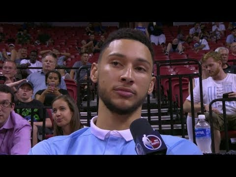 """Ben Simmons To His Friends """" You're My Son!"""""""