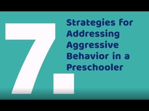 7 Strategies for Addressing Aggressive Behavior in Preschoolers - Parenting Scope