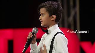 My Journey from Carrying a Weapon to Carrying a Guitar  | Elias Alameri | TEDxKids@Sanaa