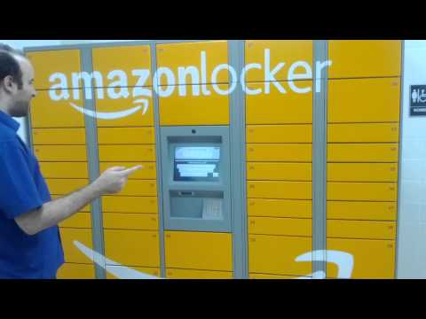 Amazon Locker Delivery At The 7-Eleven In San Francisco