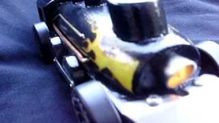 """Iron Horse"" Pinewood Derby Hot Rod Train Design"