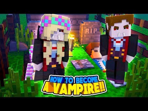 Minecraft VAMPIRE DIARIES || HOW DONNY & LEAH BECAME VAMPIRES HUNGRY FOR BLOOD || Minecraft Roleplay