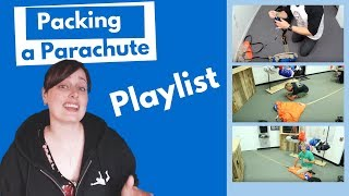 Skydiving Gear - Packing a parachute  (Tips & Tricks from Pros)