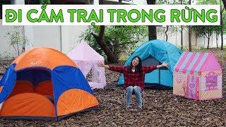 Chuyến Cắm Trại Đáng Nhớ - Phần 1: Dựng Trại Trong Rừng