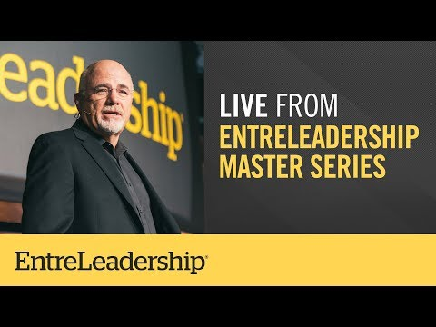 Live From EntreLeadership Master Series!
