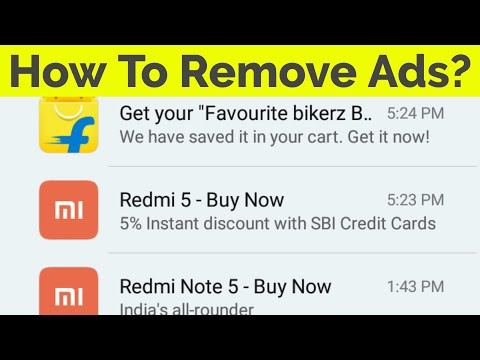 How To Remove Pop Up Ads From Your Android Phone Without Root & Turn Off  App Notifications-2019