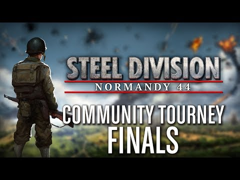 Steel Division: Normandy 44 - Community Tournament - Finals - YueJin vs. a.Lennart - Part 2