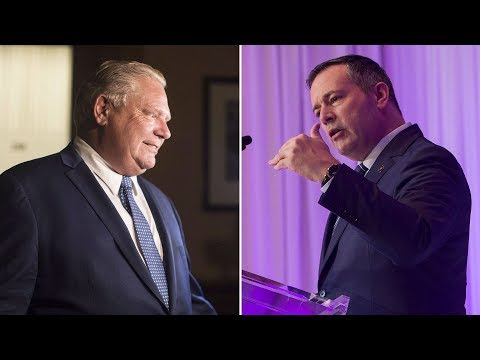 New poll finds performance of Doug Ford and Jason Kenney swaying voters
