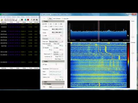 18 Minutes of Pager Traffic 2012 July 12 San Jose rtlsdr sdr# pdw flex