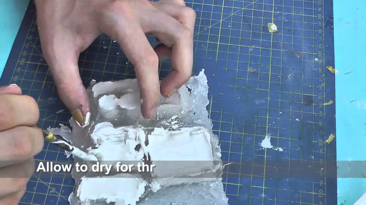 How to cheaply cast plastic models