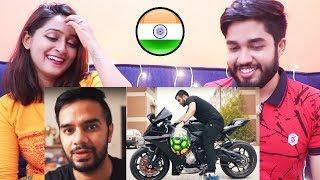 Indians react to Irfan Junejo's Dream Bike Yamaha R1