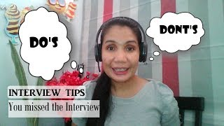 INITIAL INTERVIEW - Epic fail / Tips how to ask a call  back request(51TALK)