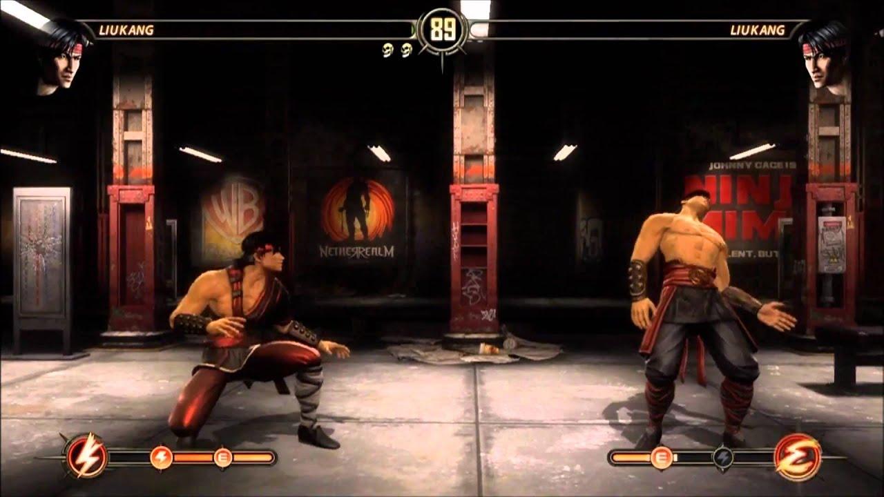 Mortal Kombat 9 Liu Kang Fatality 1 2 Stage And Babality Hd