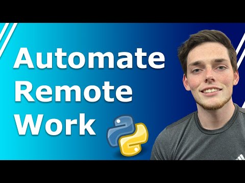 Python Automation for Remote Workers Series | Working with Files