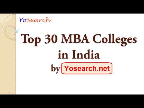 Top 30 MBA Colleges in India   Best MBA Colleges   Top MBA Colleges   Business School