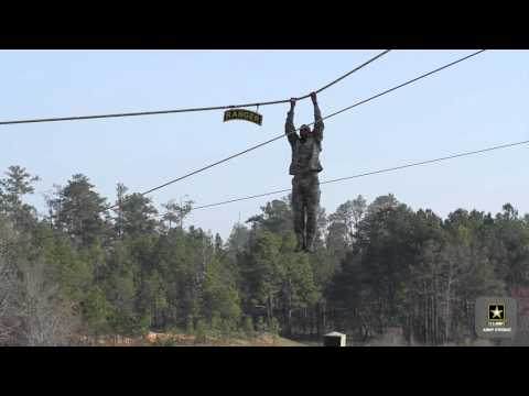 U.S. Army Rangers Demonstrate Skills and Training